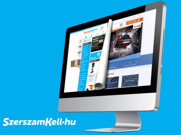 Szerszamkell.hu UX, UI redesign